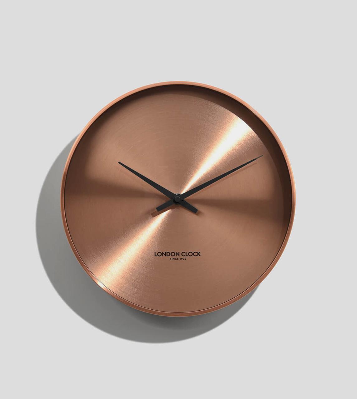 London Clock Element Copper London Clock Company Swoon