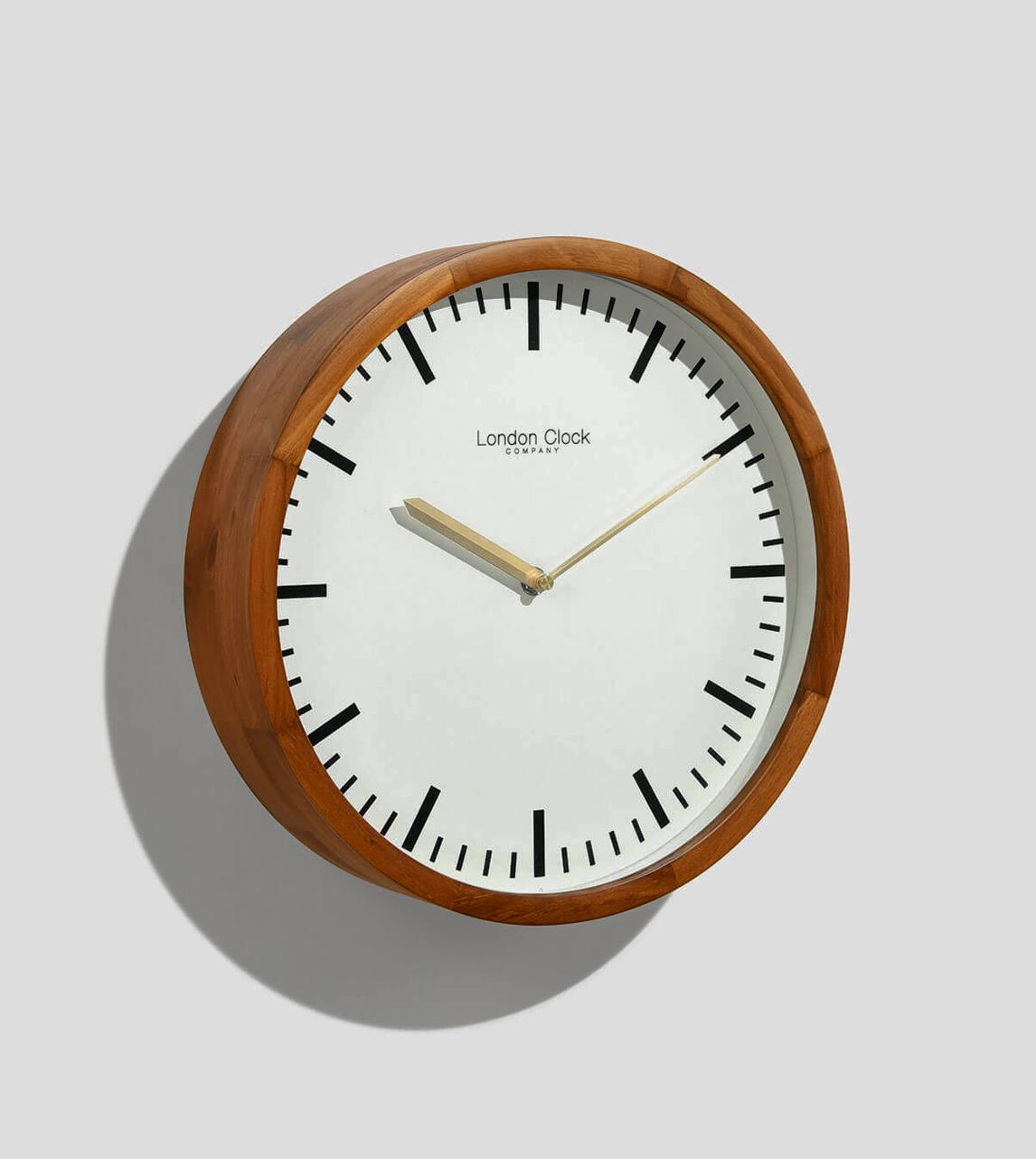 London Clock Walnut Walnut Brown London Clock Company Swoon