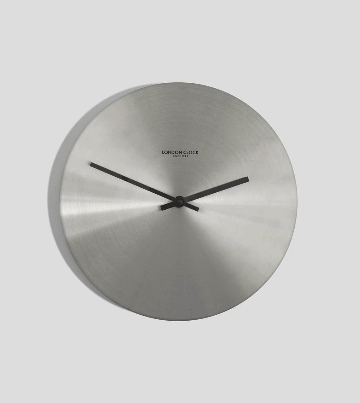 London Clock Alloy Silver London Clock Company Swoon