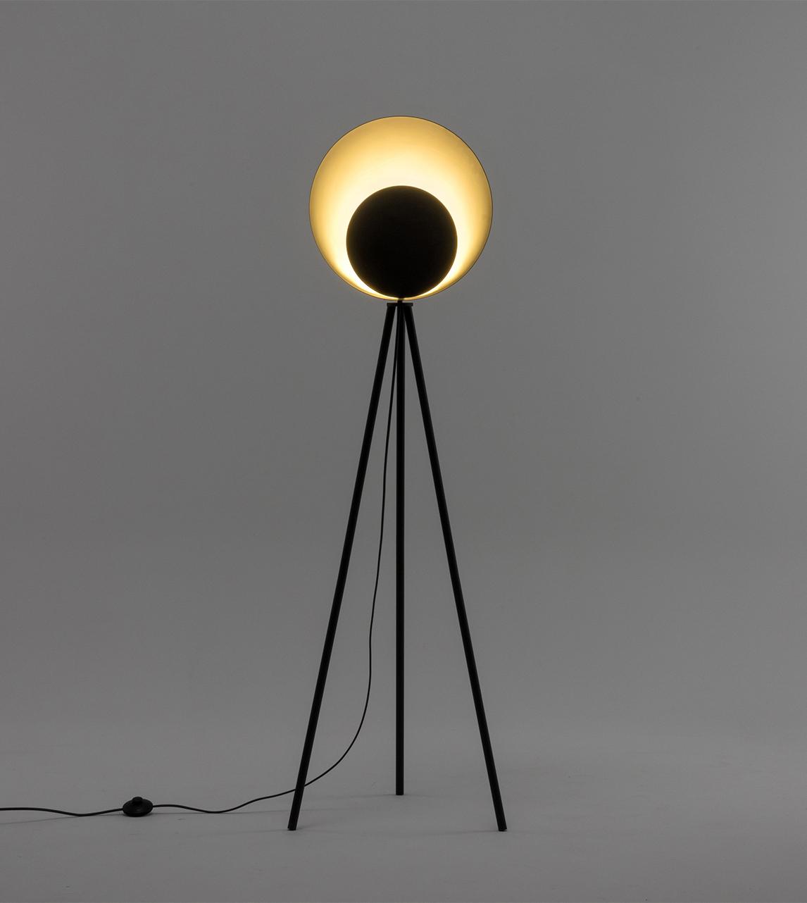 Diffuser floor lamp charcoal